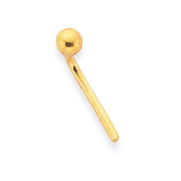 9ct Gold 2mm Ball Nose Stud