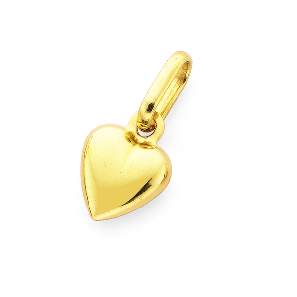 9ct Gold Small Heart Charm
