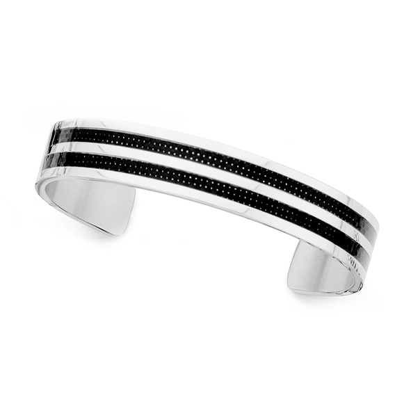 Chisel Stainless Steel Gents Cuff Bangle