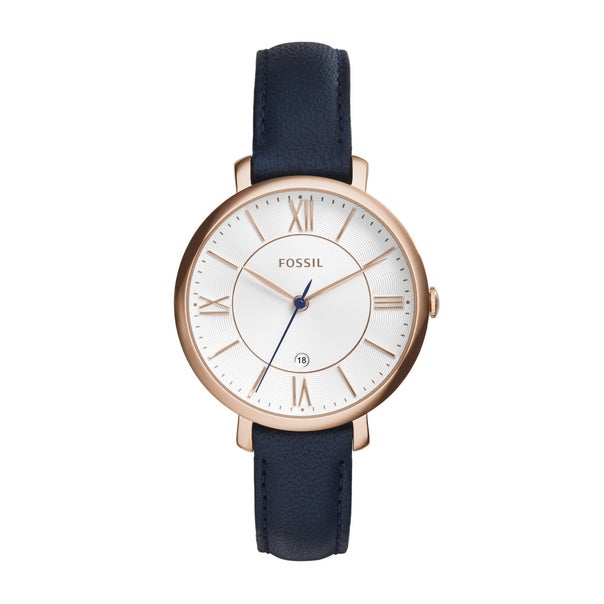 Fossil Ladies Jacqueline Rose Gold Watch